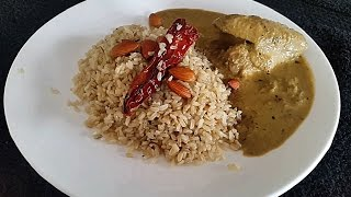 Jeera Rice Recipe - Cumin Pilaf With Brown Rice - Brown Rice Recipe - Hissingcooker.com