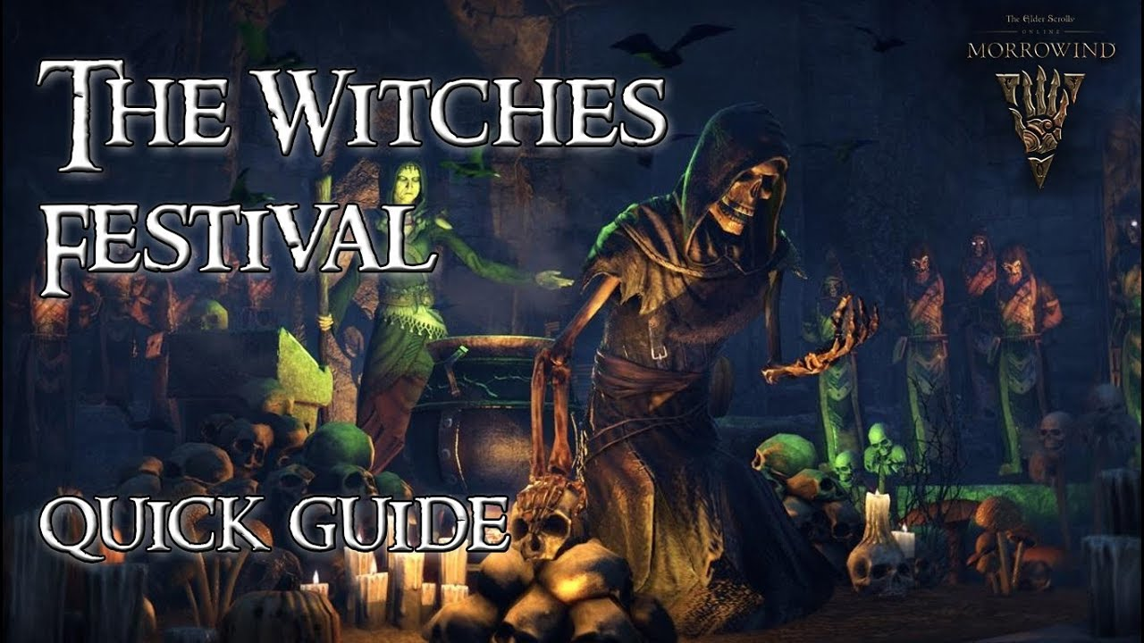 ESO Guide | The Witches Festival Quick Guide // Halloween Event ...
