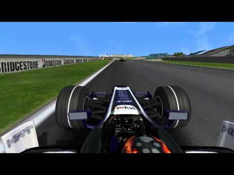 F1 Online GP2 Magny Cours I 2015 Last Lap Bari Onboard
