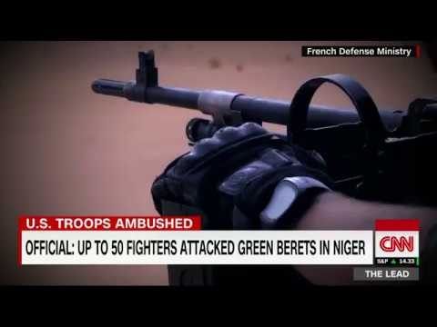 3 US Green Berets killed in ambush in Niger