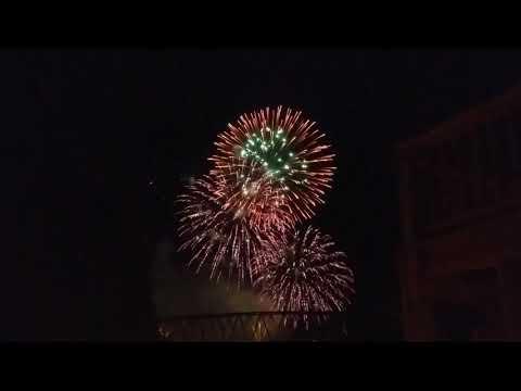 2017,Sept. 9, Sternwheel Festival Fireworks,Marietta,Ohio, on the,Ohio River.