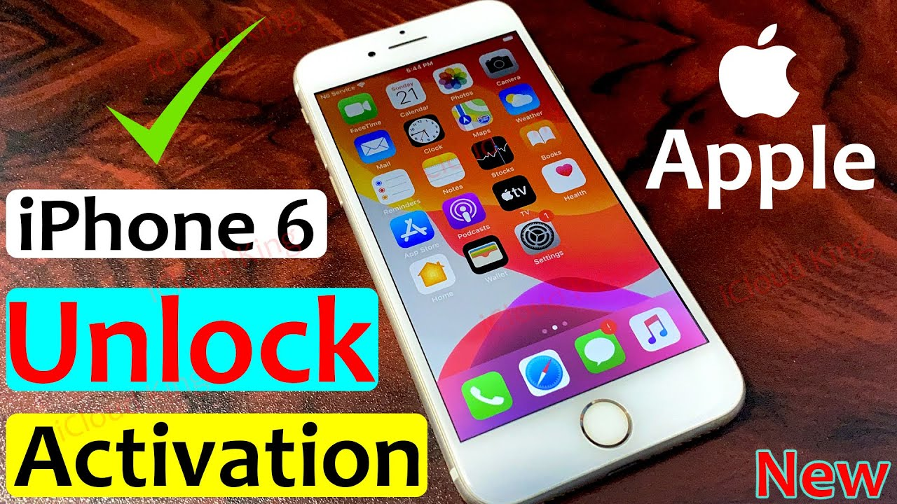 how to!! Unlock Activation Lock ON Apple iPhone 6/6s/6 Plus, Forgot Apple ID NO Need [4K]