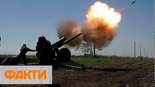 Задействовали артиллерию. Российские боевики ударили по ВСУ из гаубиц Д-30