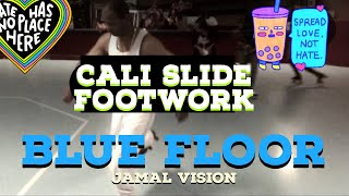 Cali Slide Footwork [ Jamal Vision ] West Coast Roller Skating (Beast Mode)
