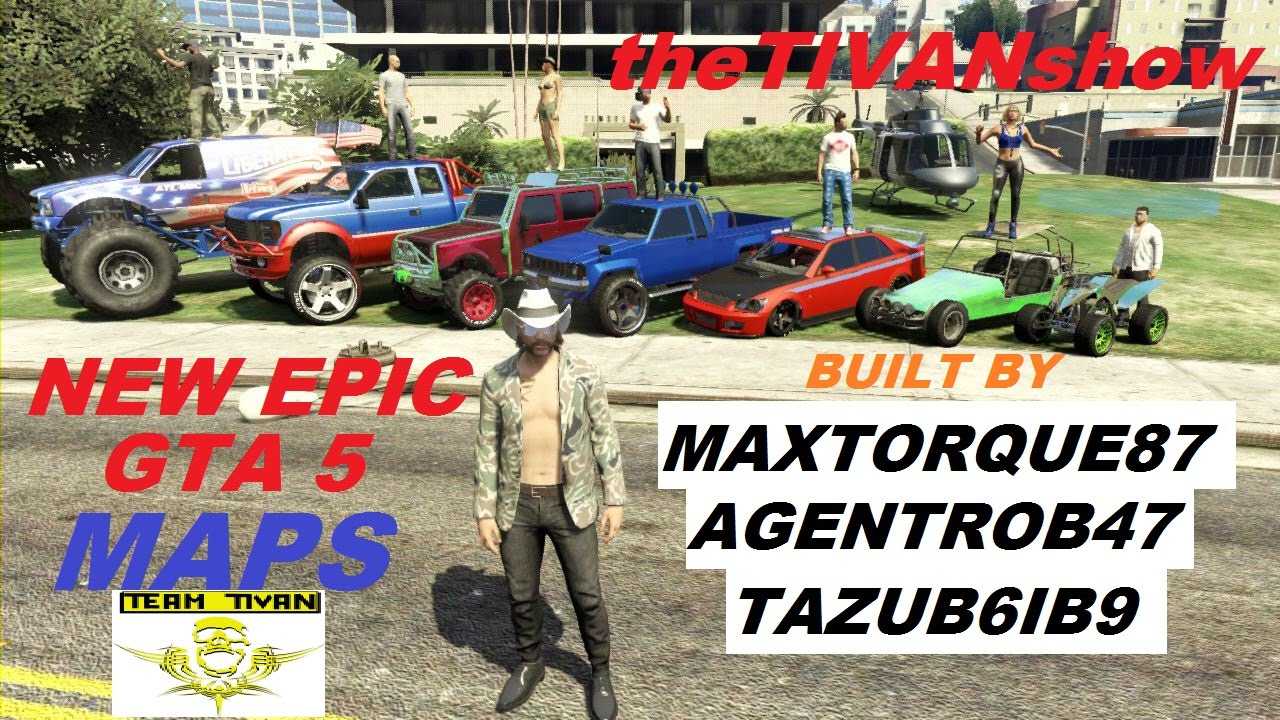 GTA 5 pershow MAP BUILDERS EPIC BATTLE