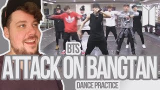 Mikey Reacts to BTS 'Attack on Bangtan' Dance Practice