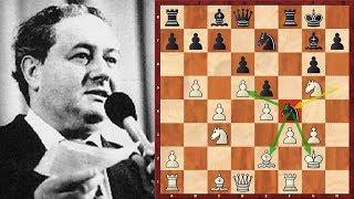 Шахматы. Одна из лучших партий, сыгранных староиндийской защитой!