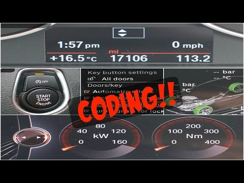 BMW 320d F30 | Coding | Digital Speedo, Sport Displays & many more