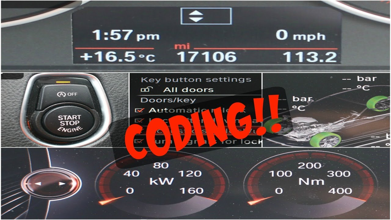 BMW 320I 2016 >> BMW 320d F30 | Coding | Digital Speedo, Sport Displays & many more - YouTube