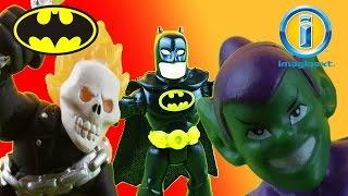 Marvel DC Kids - Imaginext Toy Show - Batman vs Ghost Rider
