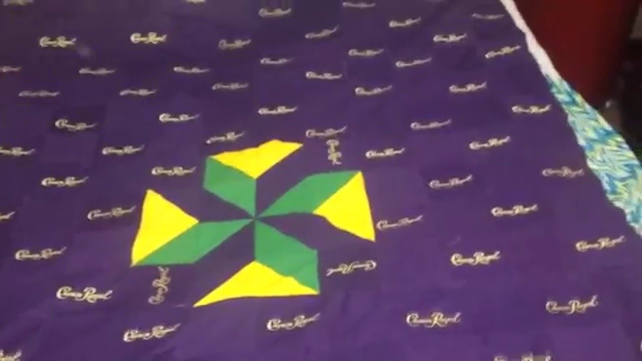 Crown Royal Quilt Front Complete Youtube