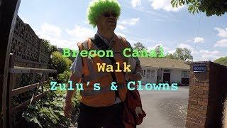 Brecon Canal walk featuring Zulu's & Clowns