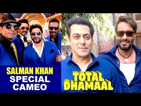 Breaking News : Salman Khan Special Cameo In Ajay Devgn's Upcoming Film Total Dhamaal