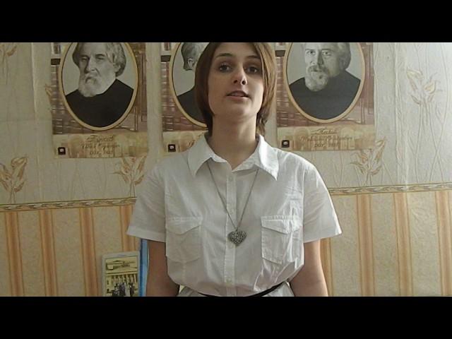 Изображение предпросмотра прочтения – КсенияРуденко читает произведение «Размышления о театре» В.Г.Белинского