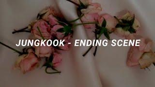 Jungkook (BTS)  - Ending Scene (이런 엔딩) Easy Lyrics