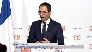 Présidentielle : Benoît Hamon, candidat du P.S.