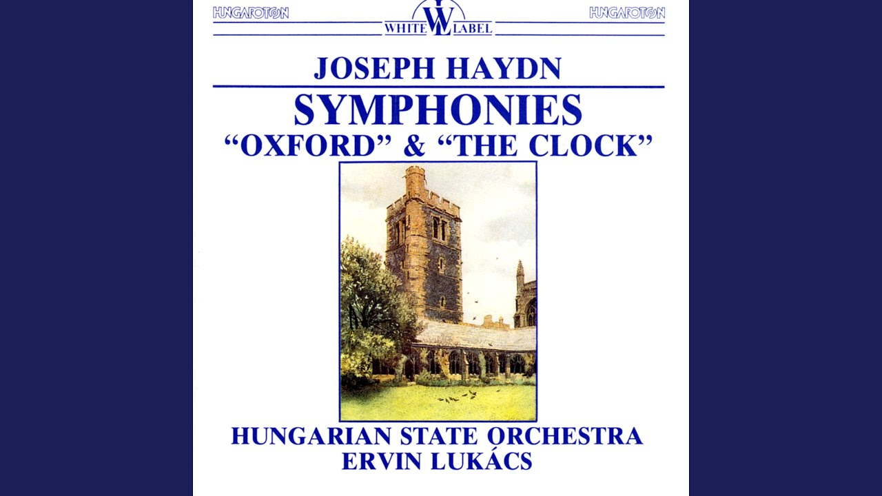 an analysis of the musical characters of the minuet proper of haydns symphony no 92 The symphonies of haydn not until his third symphony does haydn include a minuet no 92 was nicknamed the oxford because haydn chose this work to be.