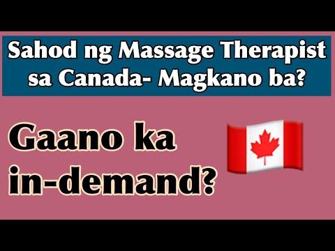 Magkano Ang Sahod Ng Massage Therapist Sa Canada At Gaano Ito Ka In-demand?