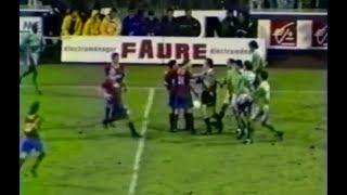 ASSE 1-1 Lyon - 10e journée de D1 1994-1995