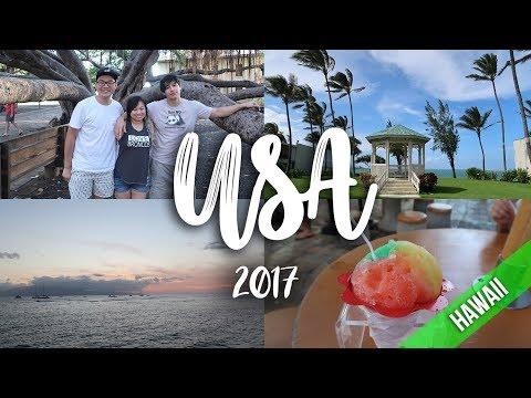 USA | MAUI HAWAII | TRAVEL VLOG 2017 [PART 1]