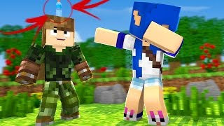 DESAFIO DA GARRAFA NO MINECRAFT : ASSISTINDO MINECRAFT ( WATER BOTTLE CHALLENGER)