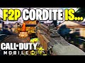 I Used The FREE Cordite For The First Time In Call Of Duty Mobile!