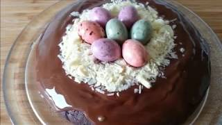 Easter Chocolate Cake Recipe - Easy Easter Cake