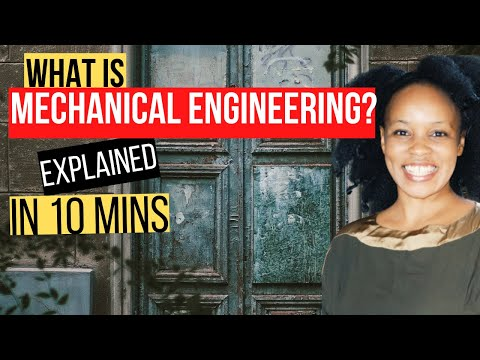What is Mechanical Engineering?(What Mechanical Engineers do) // LOIS NDEGE