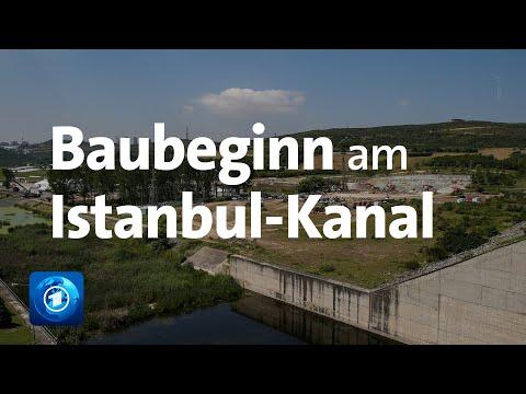 Der Bau am Istanbul-Kanal hat begonnen