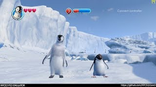 RPCS3 PS3 Emulator - Happy Feet Two Ingame! VULKAN (431a1ef9) LLVM