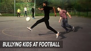 BEST FOOTBALL SKILLS! | SV2 BULLYING KIDS AT FOOTBALL