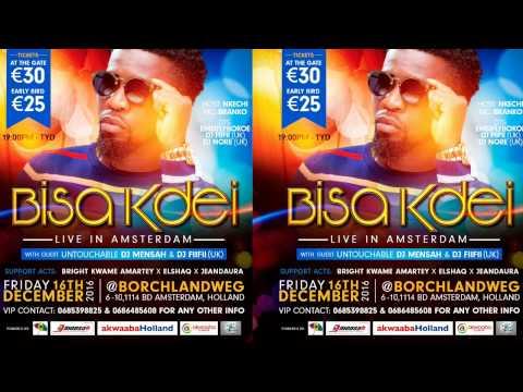 Bisa Kdei live in Amsterdam.