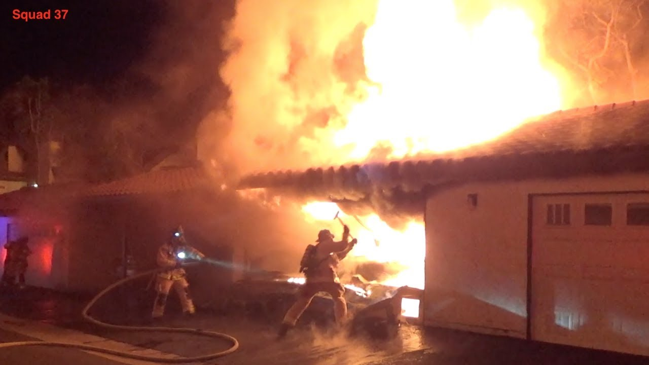 Structure Fire (San Diego)