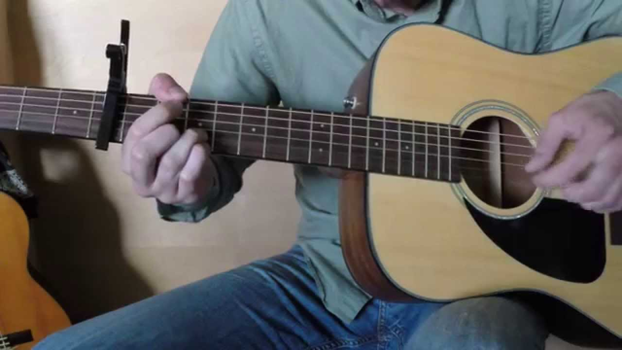 Waterloo Sunset The Kinks Fingerstyle Acoustic Cover Youtube