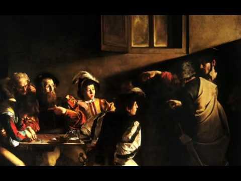 Caravaggio's Calling of St. Matthew, c. 1599-1600