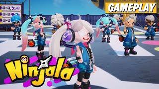 A Quick Round of Ninjala Gameplay | Kotaku
