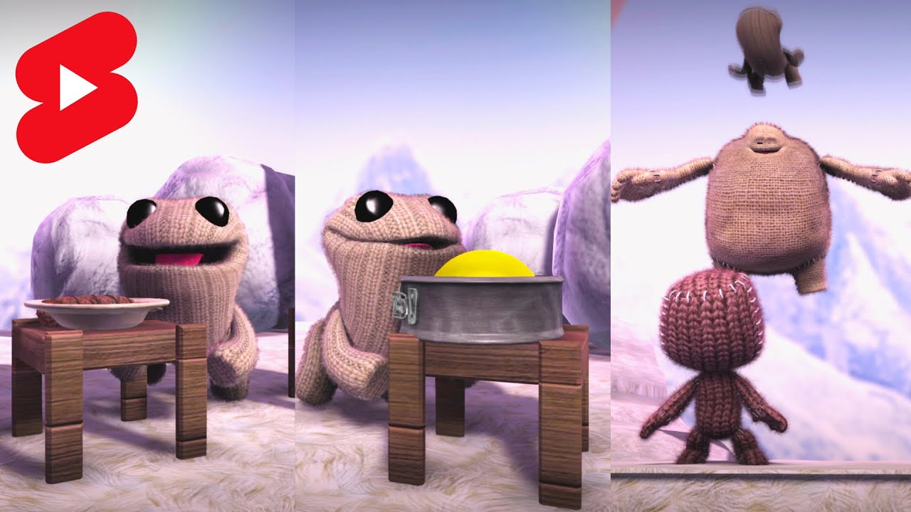 Toggle Has Gone Crazy Part 3 - LittleBigPlanet 3 | EpicLBPTime #shorts
