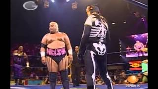 La Parka Jr., Latin Lover, the Animal, Zorro vs Head Hunter I, Rikishi, Ron Killings, Sabu