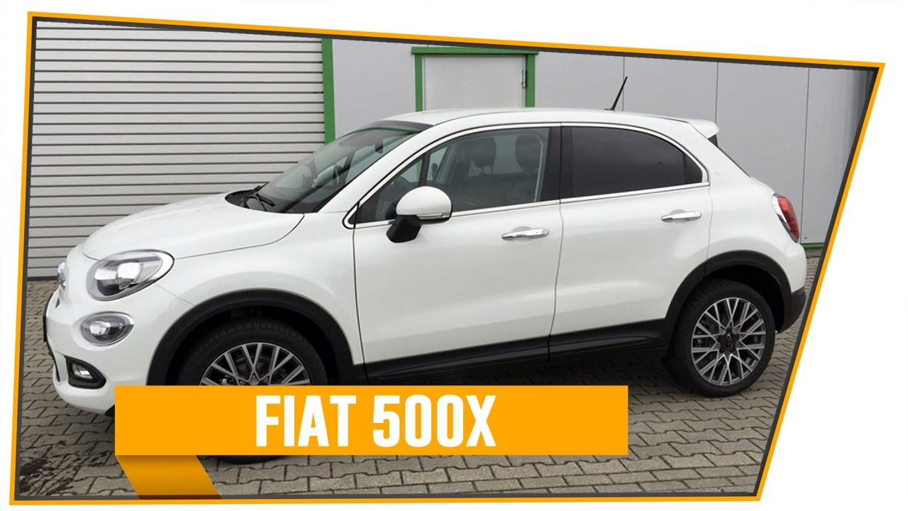 fiat 500x review des italienischen mini suv youtube. Black Bedroom Furniture Sets. Home Design Ideas