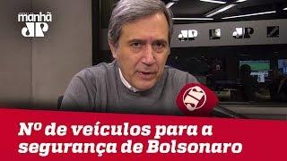 Número de veículos para a segurança de Bolsonaro e Mourão é muito elevado | Marco Antonio Villa