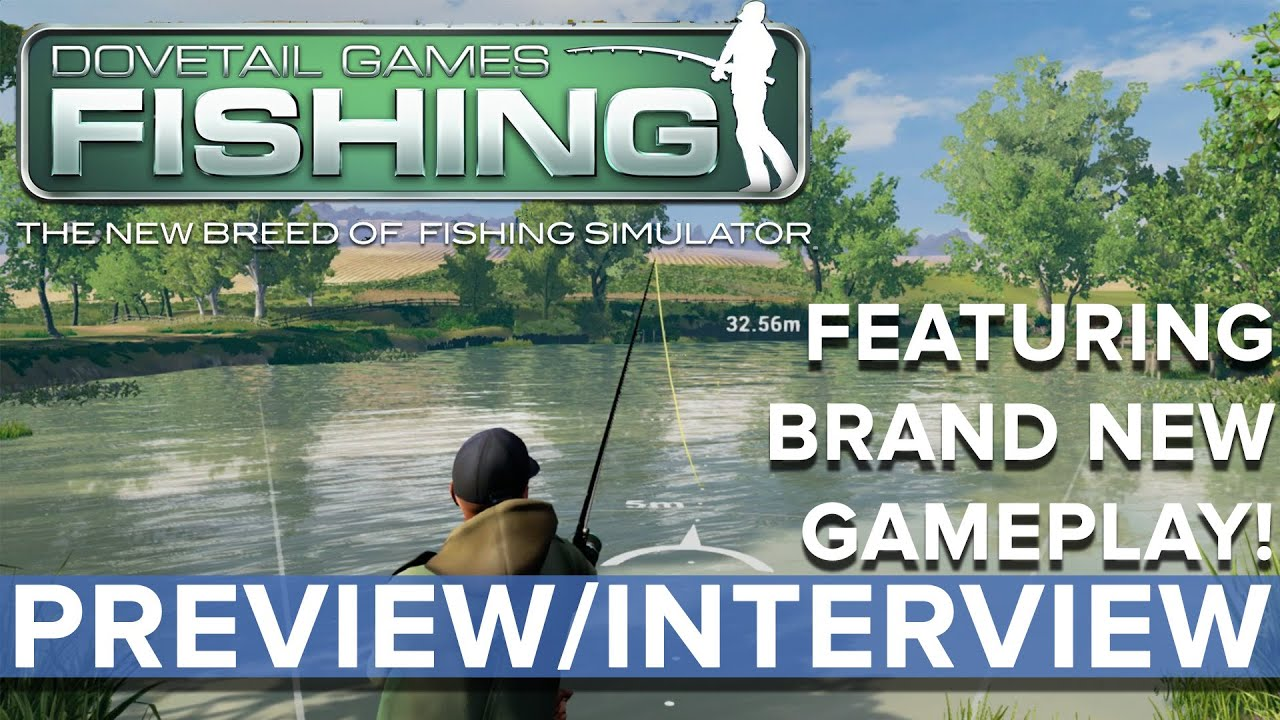 Dovetail Games Fishing   Preview with brand new gameplay     YouTube Premium