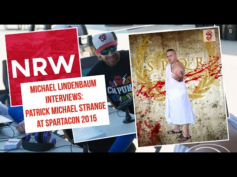 X75 Productions Interview #NRW @TeamCosLove 's Patrick Michael Strange @RebelsSpartacon 2015