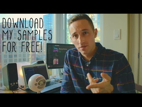 FREE drum/vocal/synth samples & loops + music video