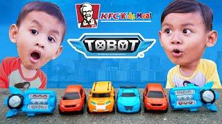 Hadiah Terbaru KFC Chaki Kids Meal 2019 Edisi Mainan Robot Tobot X Y Z Smart Key Y
