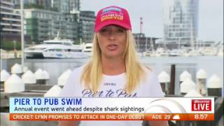Sunrise TV National Cross | Woman Conquers Fear And Swims In Open Water Event