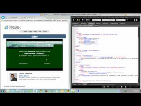 Microsoft Student Partners: HTML5 en Internet Explorer 9 Part 3