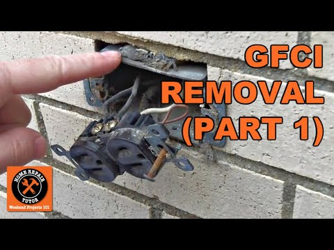GFCI Outdoor Electrical Outlet Installation-Part 1 - by Home Repair Tutor