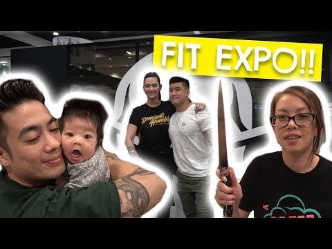 Dad Left Us Alone!? | FitExpo 2018 w/ Barbell Brigade