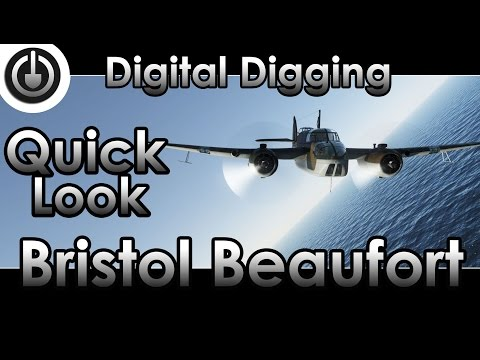 War Thunder Bristol Beaufort Gameplay and Review.