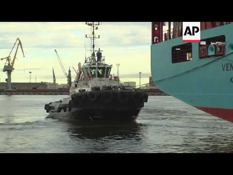 World's biggest shipping firm tests Russian Arctic route